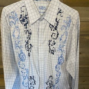 191 Unlimited Embroidered button down